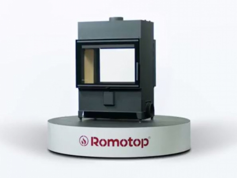 Romotop HEAT T 2g 70.50.01 - tunnel fireplace insert