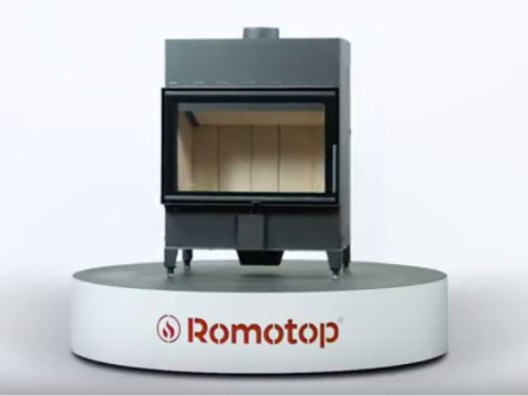 Romotop HEAT 2g 70.44.01 - straight fireplace insert