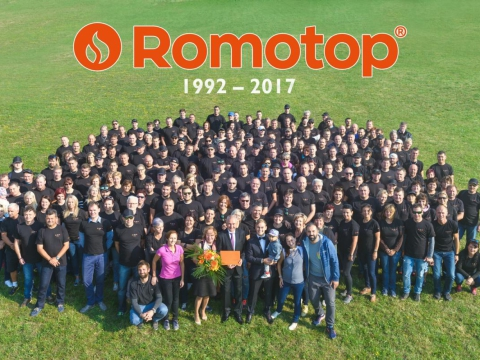 The 25th anniversary of ROMOTOP