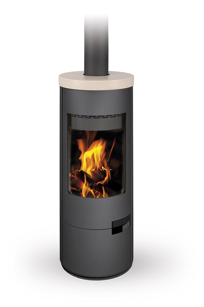 Romotop Fireplace Stove Luanco Ceramic Romotop