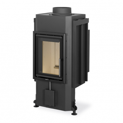 DYNAMIC B2G 35.46.01 - fireplace insert with back stoking and double glazing