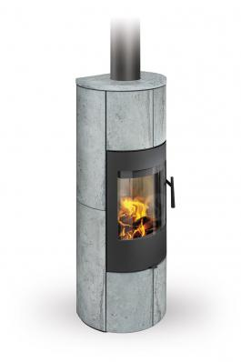 PALEA 02 A serpentine - fireplace stove