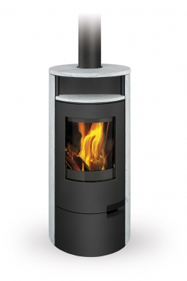LUGO 02 serpentine - fireplace stove