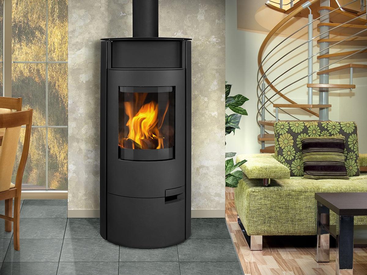 akkumulations kaminofen romotop lugo 03 stahl romotop. Black Bedroom Furniture Sets. Home Design Ideas