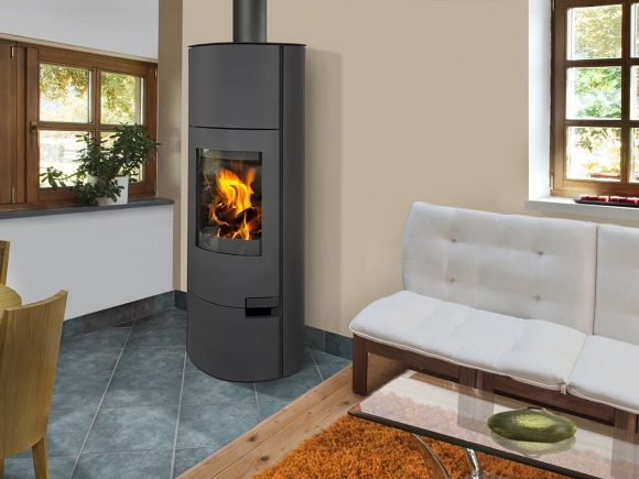 LUGO 03 sheet metal - fireplace stove with water exchanger
