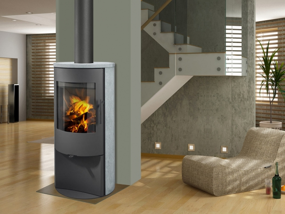 ALPERA E02 serpentine - fireplace stove
