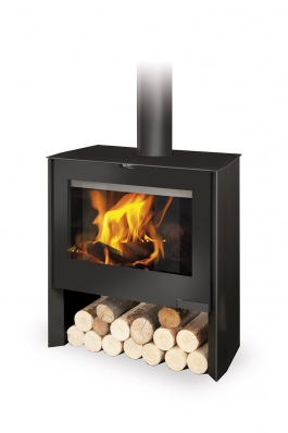 RIANO 01 steel - fireplace stove