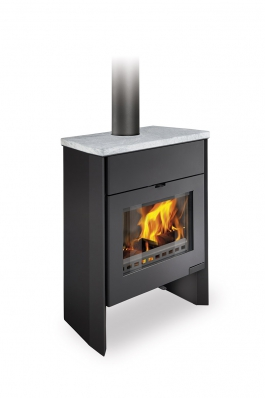 RIANO 03 W stone - fireplace stove with water exchanger