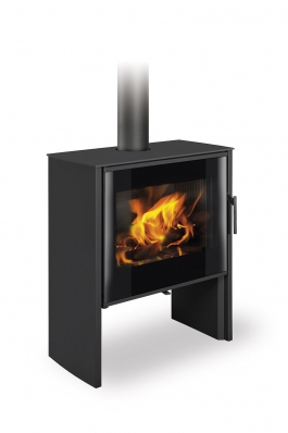 RIANO N 01 steel - fireplace stove