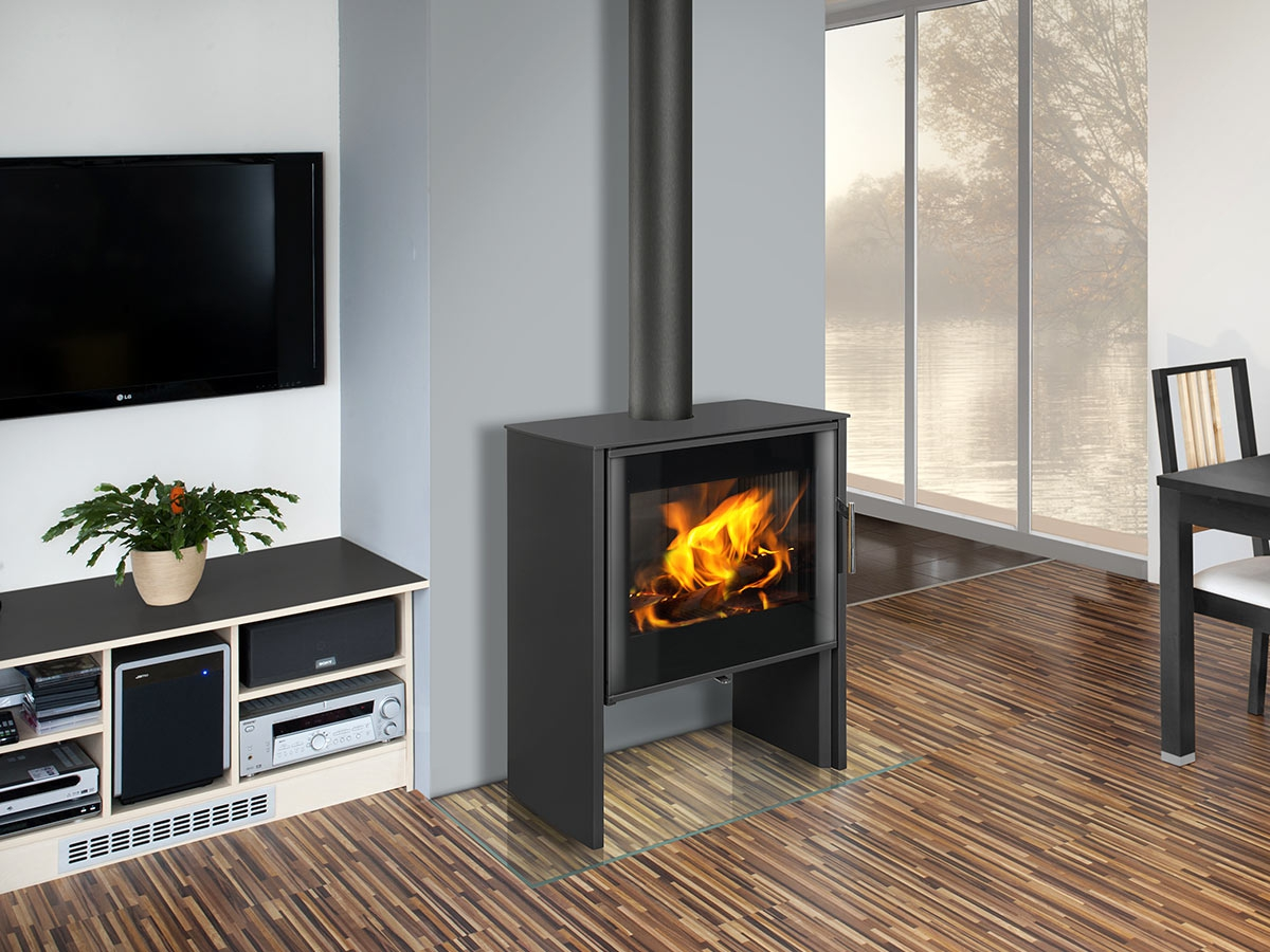 Romotop Fireplace Stove Riano N 01 Steel Romotop