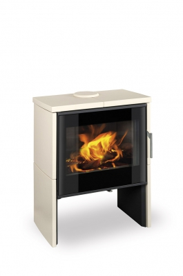 RIANO N 02 ceramic - fireplace stove