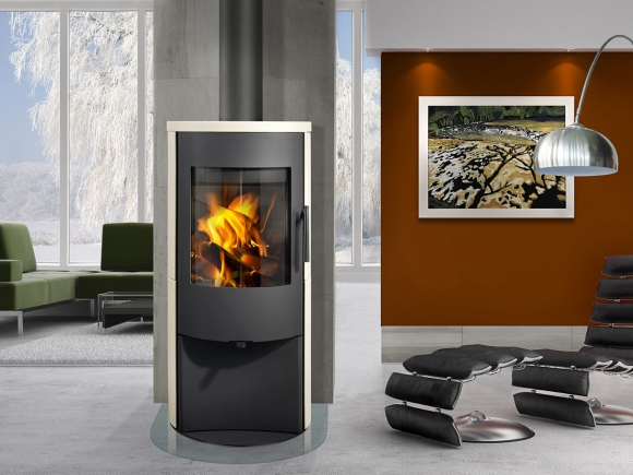 ALPERA E01 ceramic - fireplace stove
