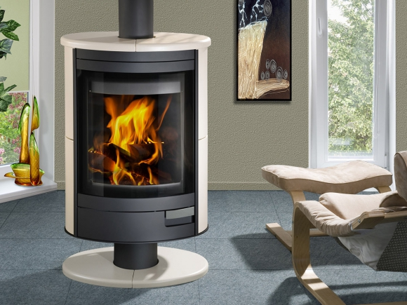 STROMBOLI N 02 ceramic - fireplace stove