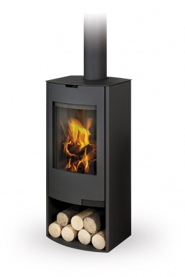 TALA 01 sheet metal, radius door - fireplace stove