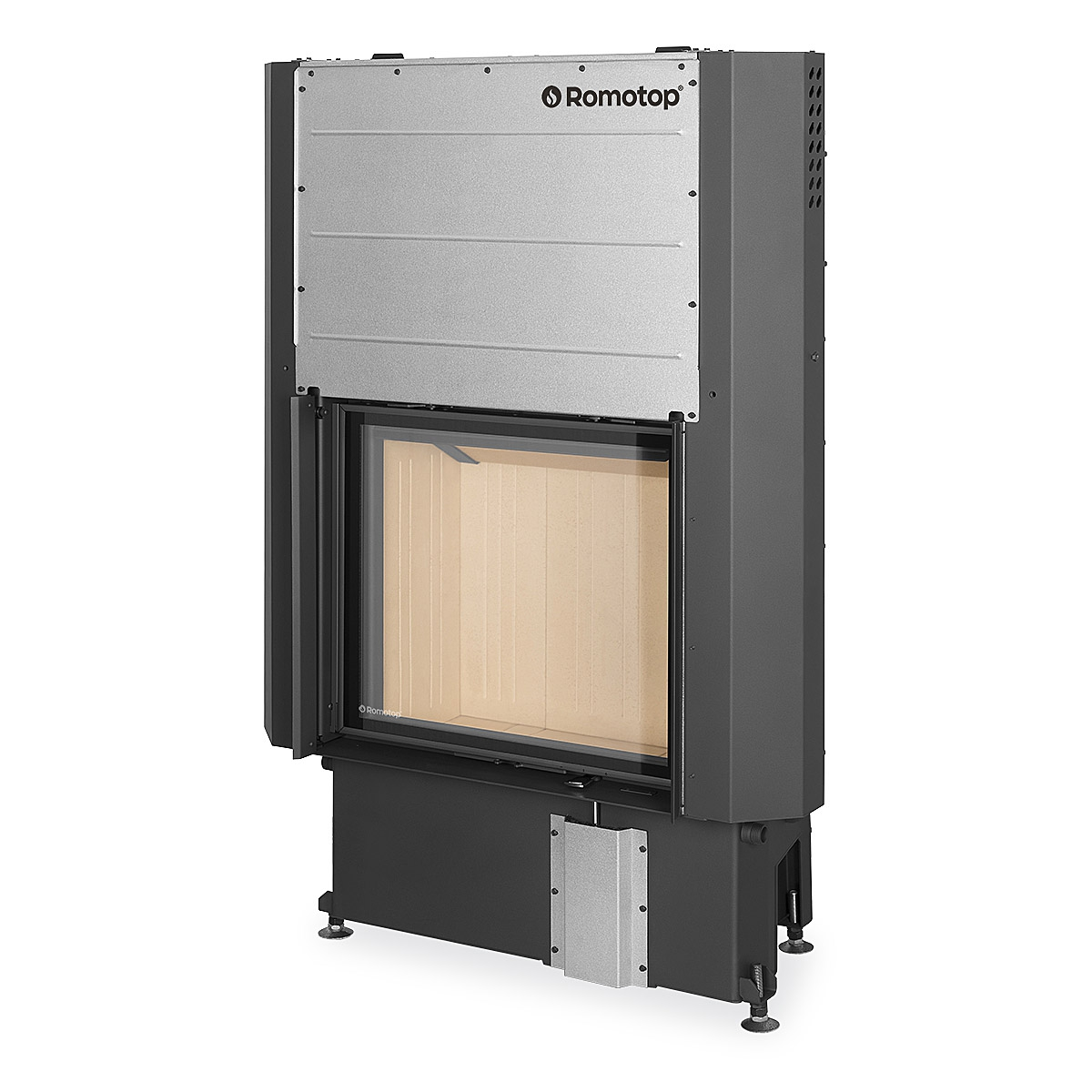 IMPRESSION 2g L 67.60.01 - fireplace insert with lifting door and double glazing
