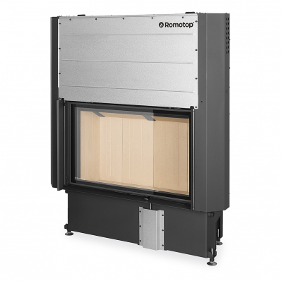 IMPRESSION 2g L 93.60.01 - fireplace insert with lifting door and double glazing