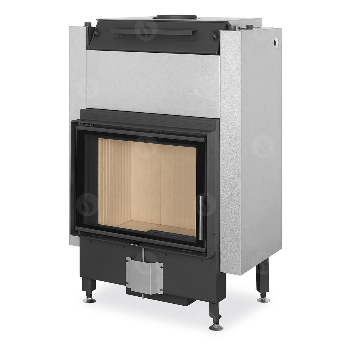 DYNAMIC W 2g 66.50.01P - fireplace insert with triple glazing and hot-water exchanger