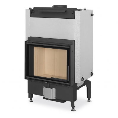 DYNAMIC W 2g 66.50.01 - fireplace insert with double glazing and hot-water exchanger