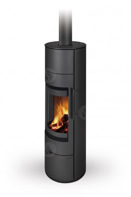 ALEA 03 A steel - fireplace stove