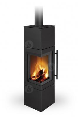 ESQUINA N steel - fireplace stove