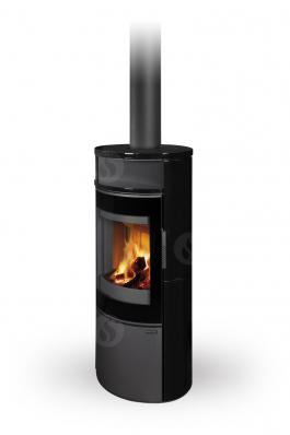 LUGANO 01 ceramic - fireplace stove