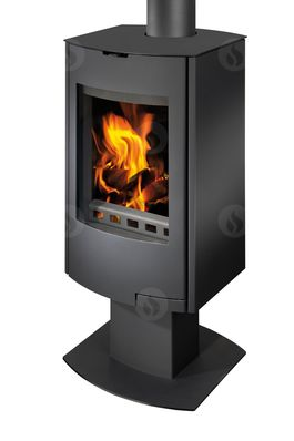 TALA 18 sheet metal, radius door - fireplace stove
