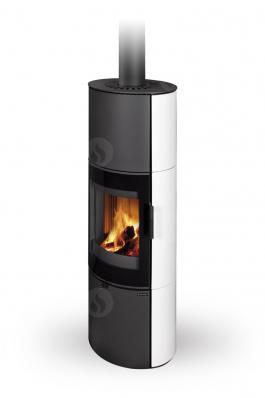 LUGANO 01 A ceramic - fireplace stove
