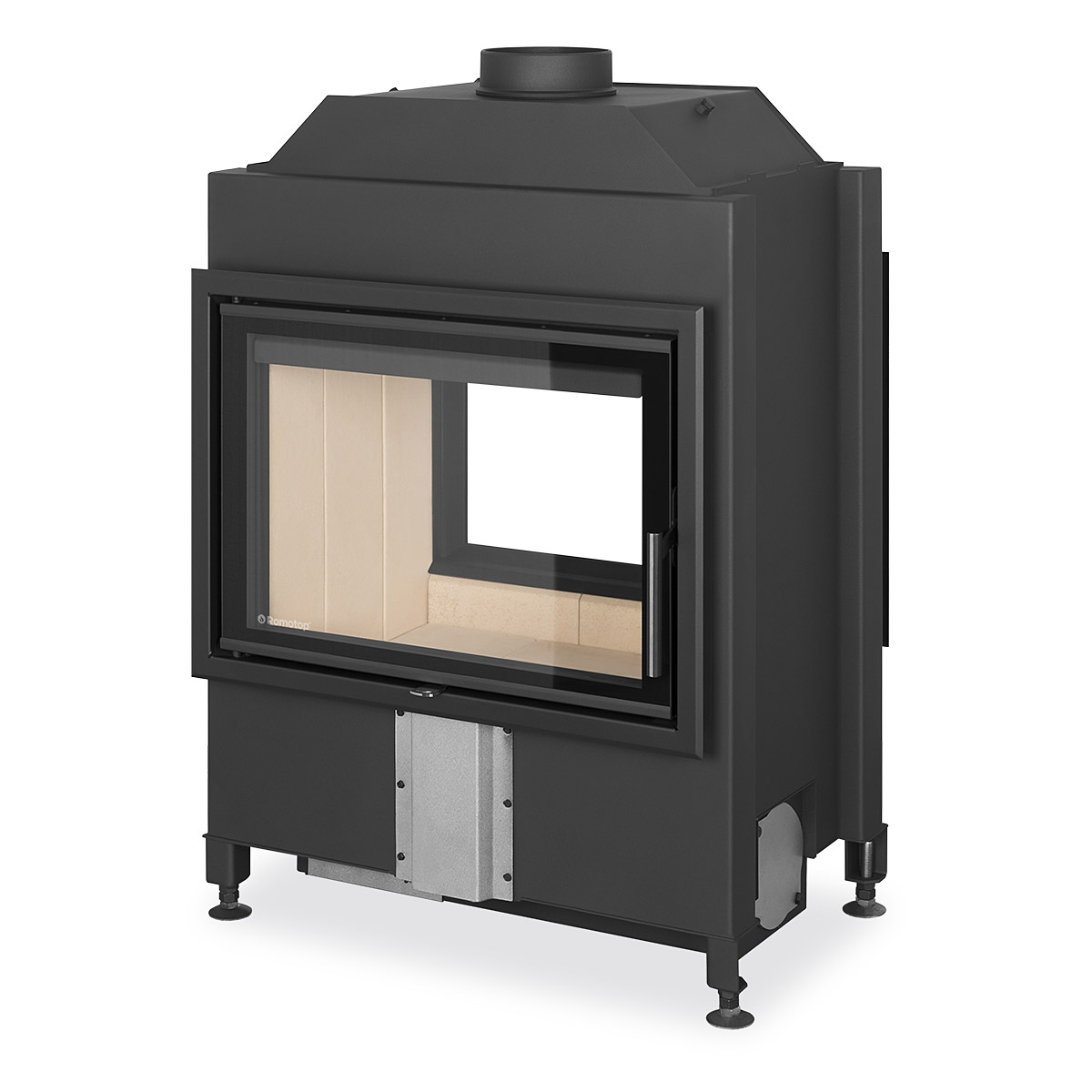 Fireplace Doesnt Heat: Romotop HEAT T 3g 70.50.01 - Tunnel Fireplace Insert