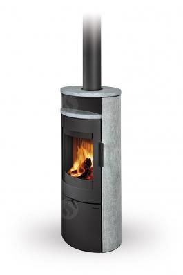 LUGO N 02 serpentine - fireplace stove