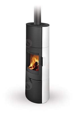 LUGO N 01 A ceramic - fireplace stove