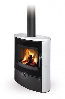 NAVIA G 01 ceramic - fireplace stove