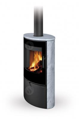 OVALIS G 02 serpentine - fireplace stove
