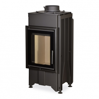 DYNAMIC 2G 44.55.01 - straight fireplace insert with double glazing