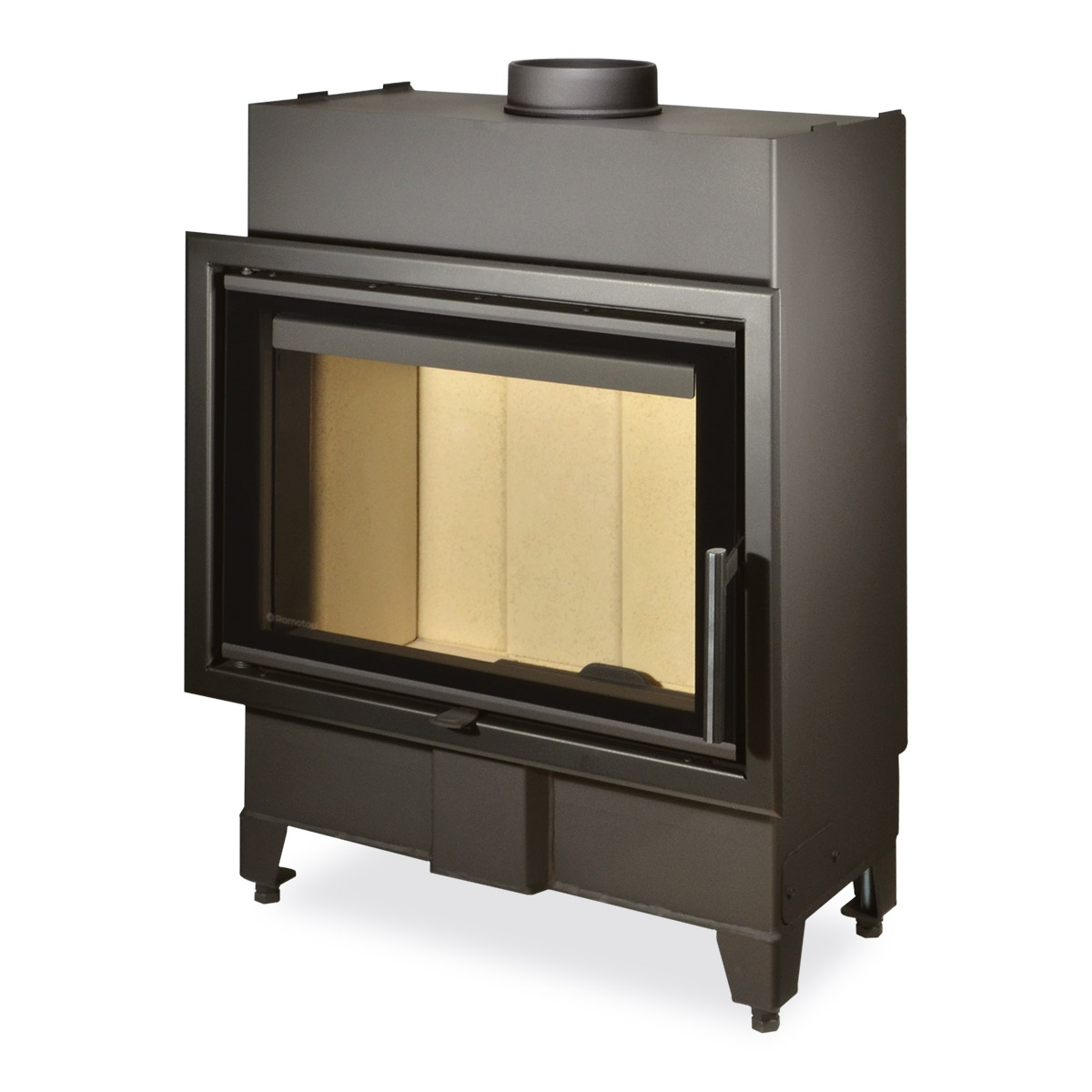 HEAT 2g 59.44.13 - straight fireplace insert
