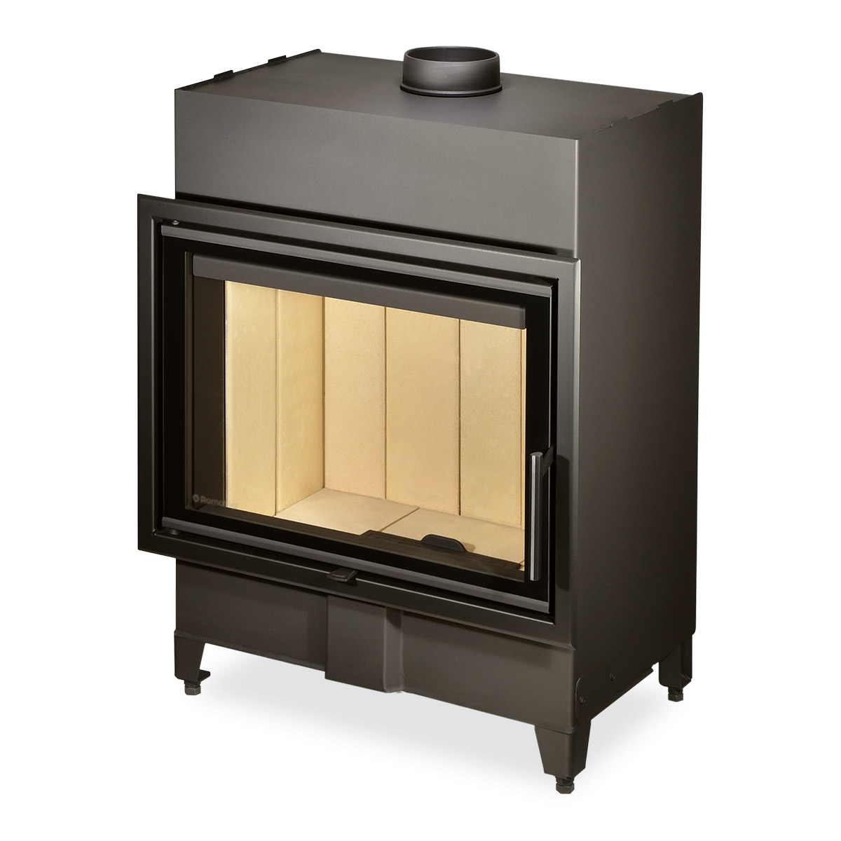 HEAT 2g 70.50.01 - straight fireplace insert