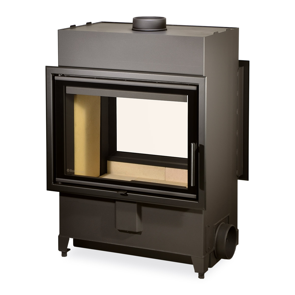 Fireplace Doesnt Heat: Romotop HEAT T 2g 70.50.01 - Tunnel Fireplace Insert