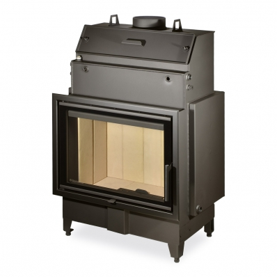 HEAT W 2g 70.50.01 - fireplace insert with hot-water exchanger