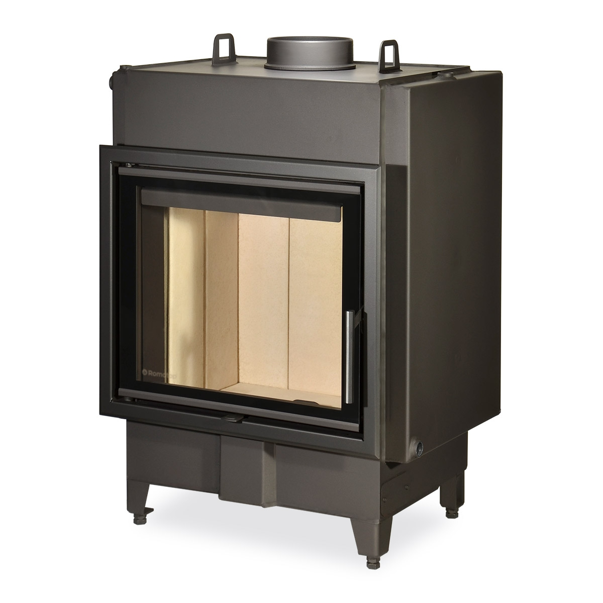 HEAT WA 2g 59.50.01 - fireplace insert with hot-water exchanger