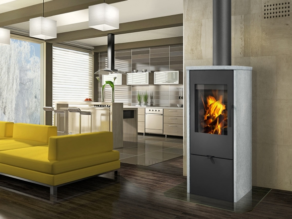 ALPERA F02 serpentine - fireplace stove