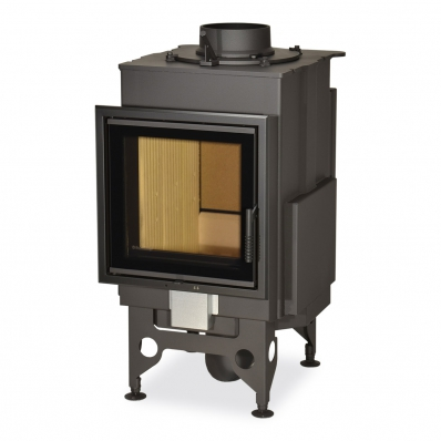 KV 025 N01 BD - fireplace insert with back stoking and double glazing