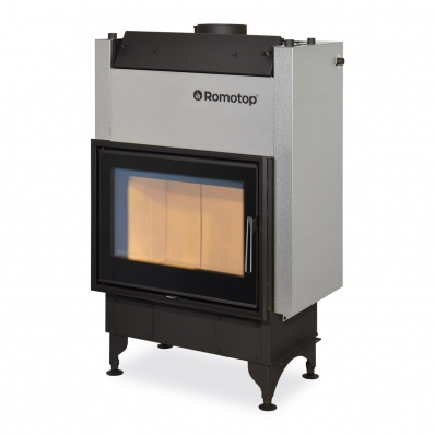 KV 025 W01 - fireplace insert with double glazing and hot-water exchanger