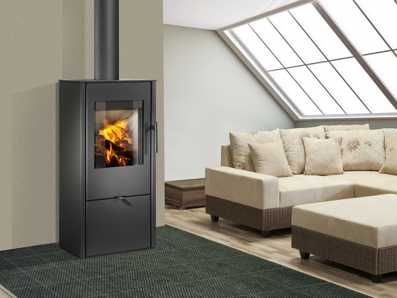 ALPERA F03 steel - fireplace stove