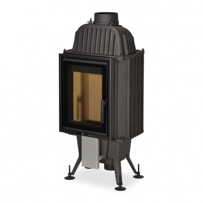 KV 075 02 - cast-iron fireplace insert with double glazing