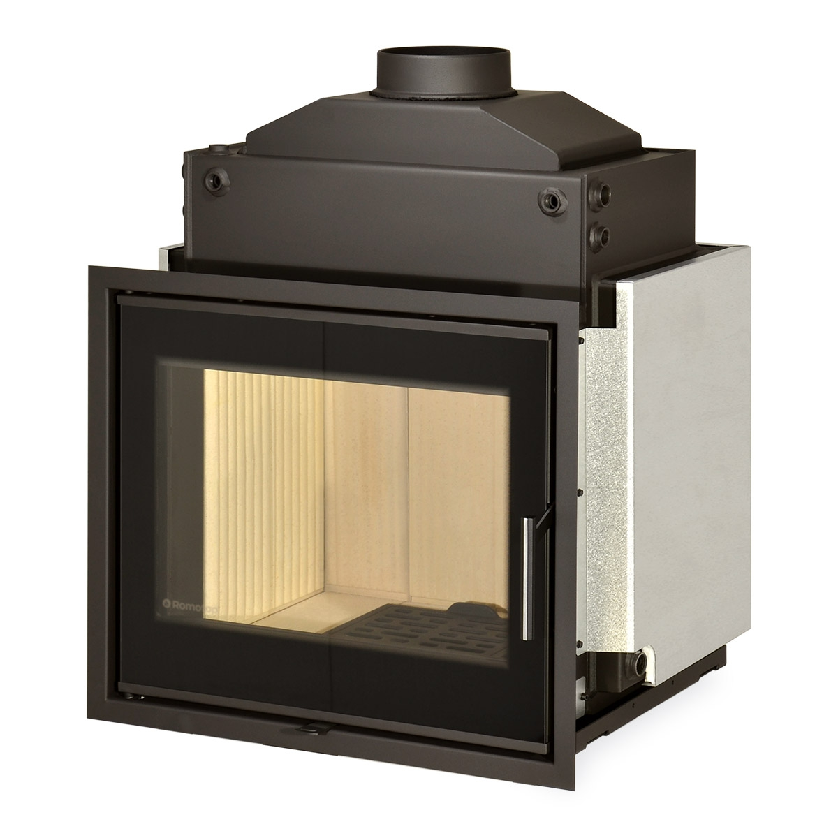 KV 6.6.2 HE - fireplace insert with hot-water exchanger