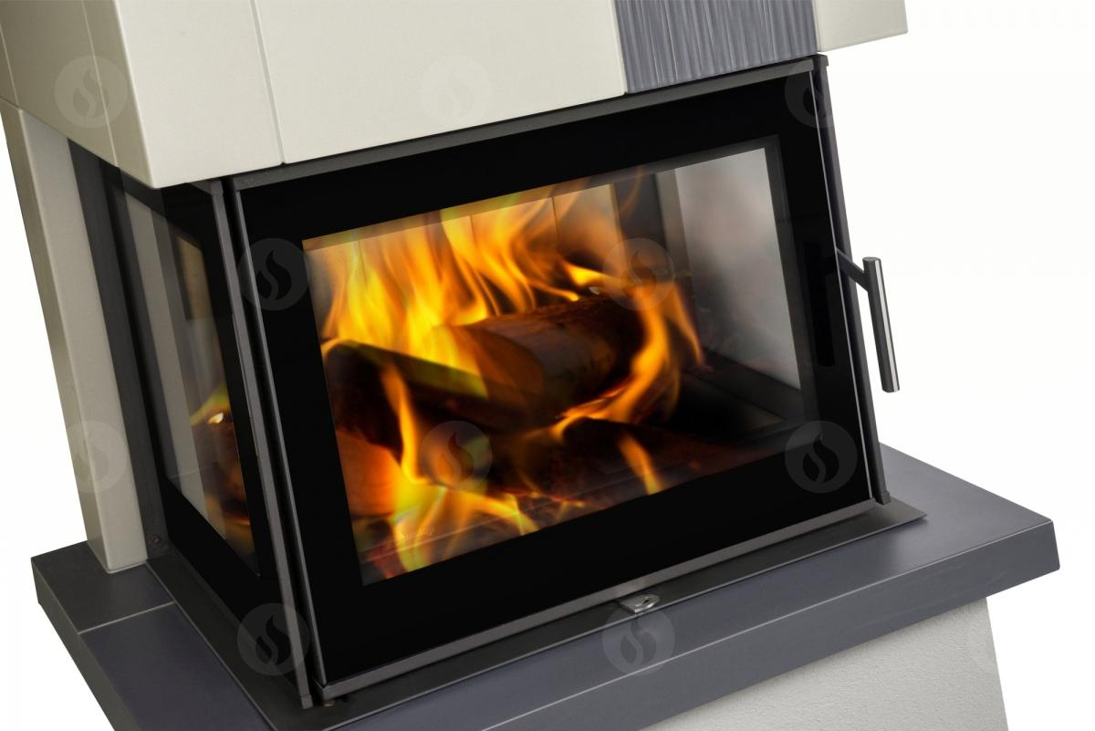 KV 6.6.3 C - fireplace insert with double-sided glazing