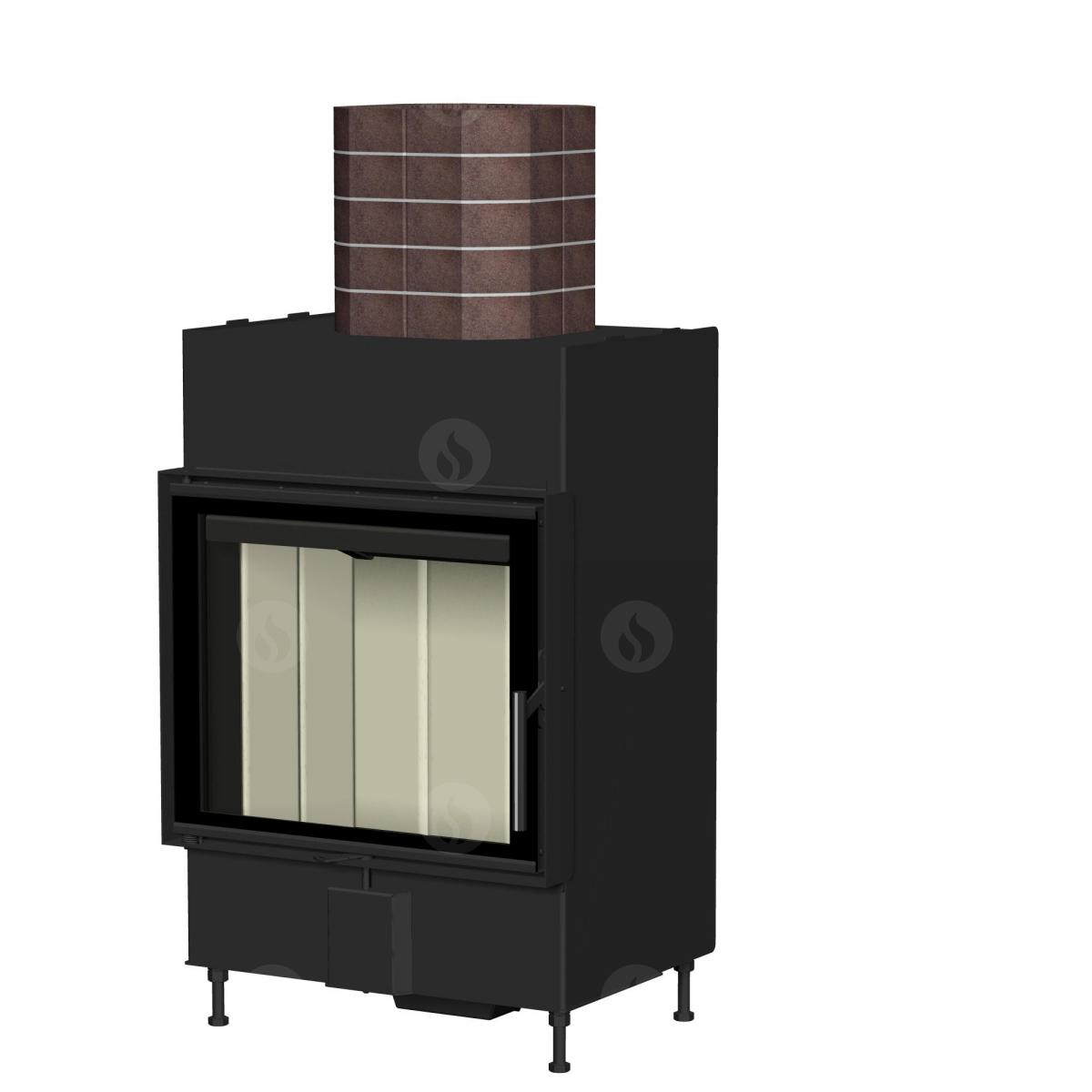 TOP ROMOTOP MAMMOTH ACCUMULATION SET for fireplace inserts with a flue exhaust of 150 mm