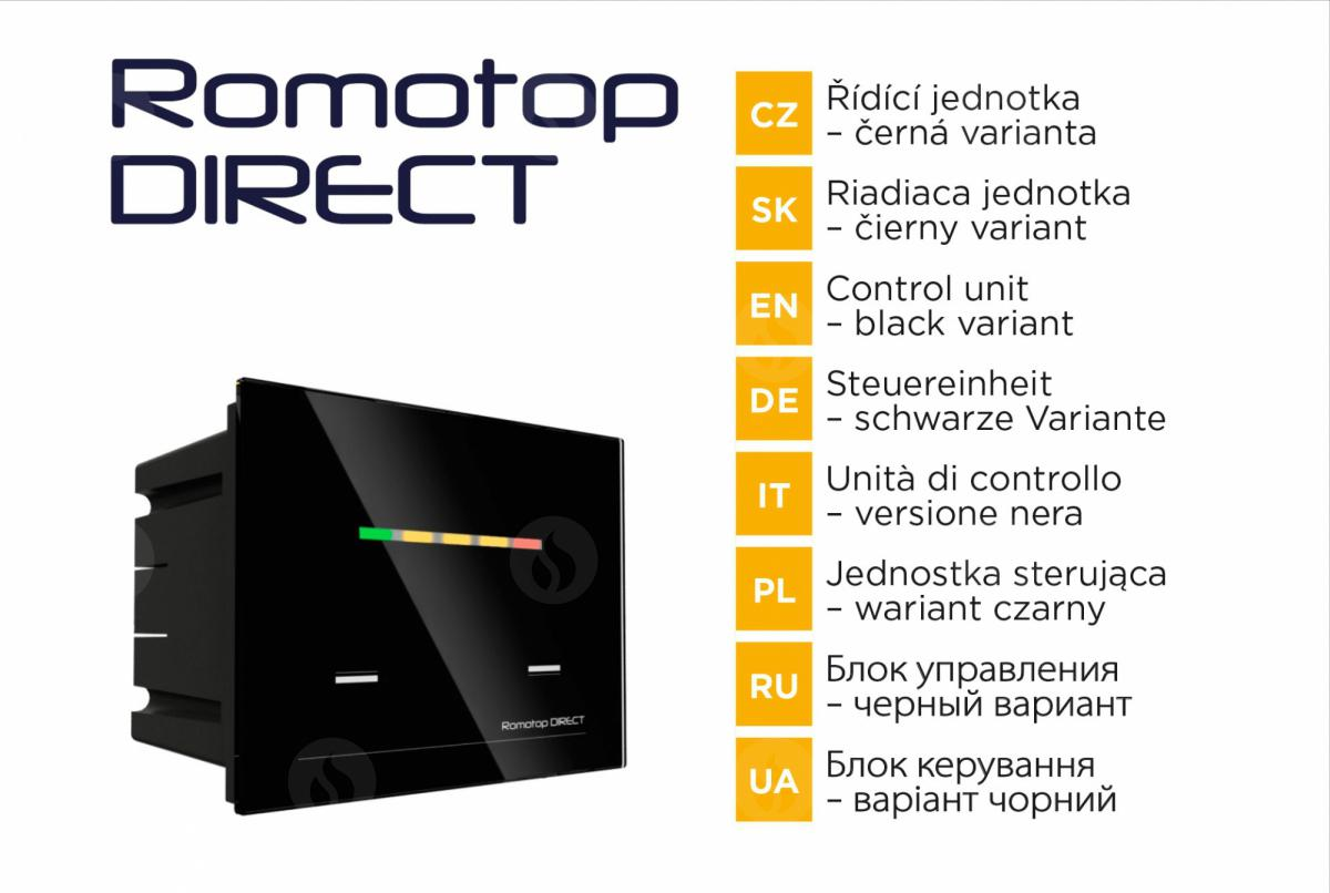 ROMOTOP DIRECT AUTOMATIC REGULATOR