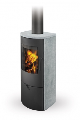 ALPERA G02 serpentine - fireplace stove