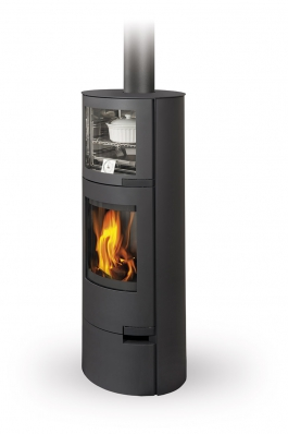 LUGO 03 sheet metal - fireplace stove with oven