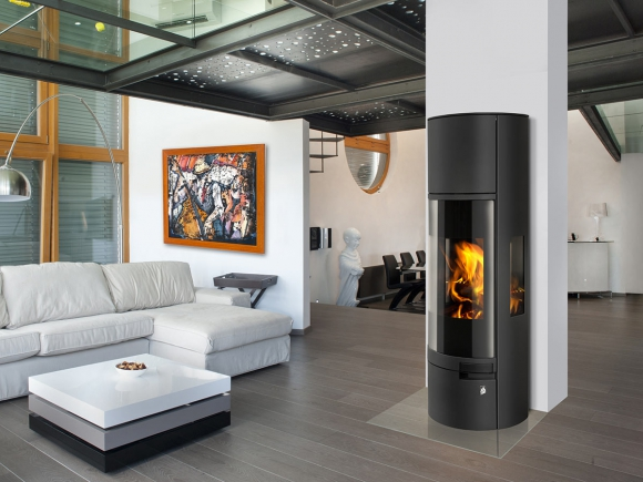BELO 3S 01 A steel - accumulation fireplace stove
